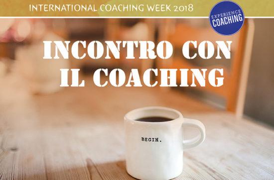 10 Maggio 2018: Incontro con il Coaching
