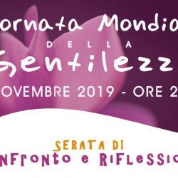 13 Novembre 2019: Giornata Mondiale della Gentilezza