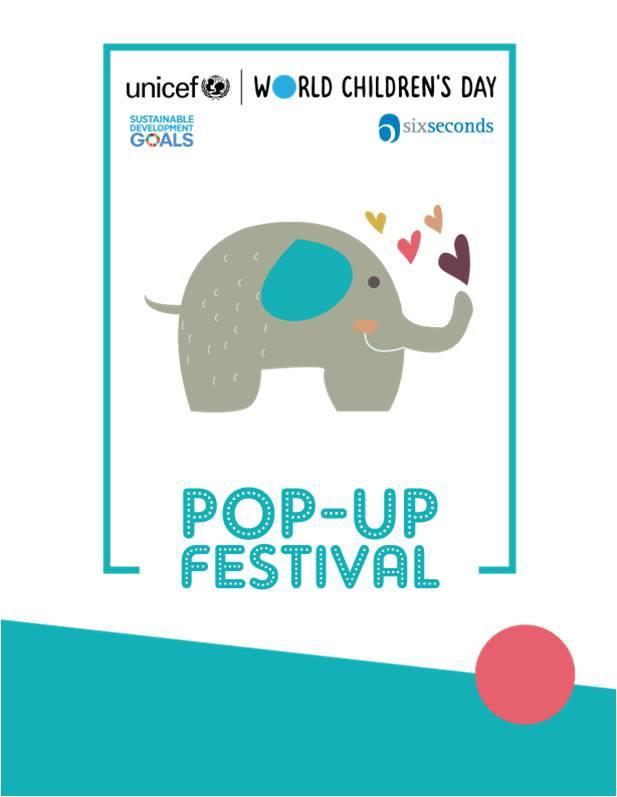 24 Novembre 2019: Pop-up Festival dei Bambini
